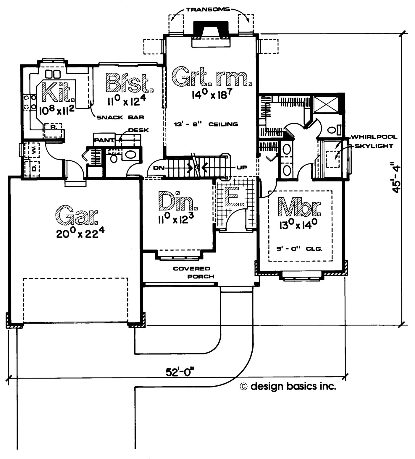 Beechcreek First Floor Plan